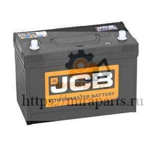 Аккумулятор оригинальный JCB 110 А/ч 332/F3103, 729/10669